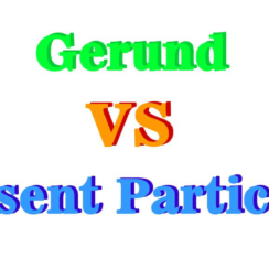 Gerund VS Present Participle