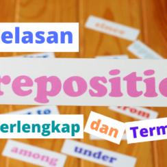 Penjelasan Preposition