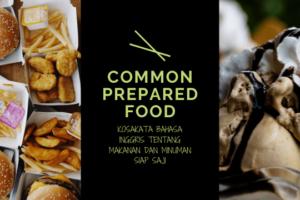 Common Prepared Food Thumbnail