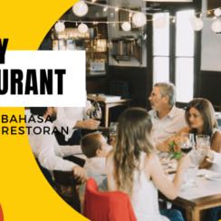 Family Restaurant Vocabulary Thumbnail