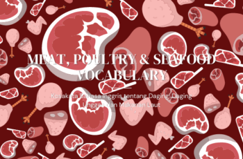 Meat, Poultry and Seafood Vocabulary Thumbnail