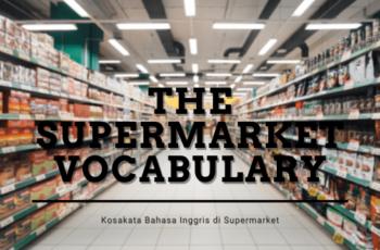 The Supermarket Vocabulary Thumbnail