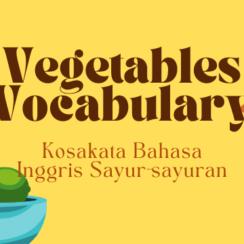 Vegetables Vocabulary Thumbnail